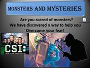 Monsters University in Session (4-5 Monsters)