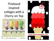Theibaud Inspired Ice Cream Collage