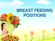 BREAST FEEDING POSITIONS11