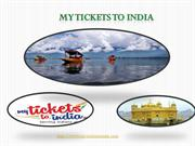Book Tickets to India Online
