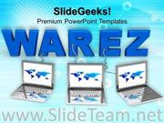LAPTOP WITH WORD WAREZ POWERPOINT BACKGROUND