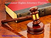 Consumer Rights Attorney Florida