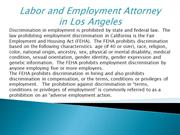 Labor and Employment Attorney in Los Angeles
