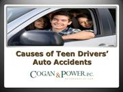 PPT: Causes of Teens Drivers' auto accidents