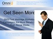 Why SMS/Text Message Marketing Campaigns