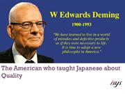 Deming's Quality Principles