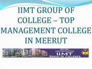 Top Management College in Meerut