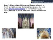 Egan Church Furnishings and Restorations