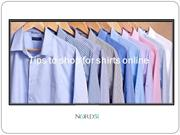 Tips to shop for shirts online