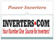 Power Inverters-www.inverters.com