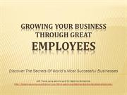 Growing your biz through great employees