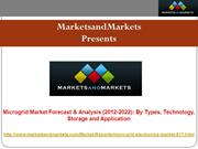 Microgrid Market - Global Forecast & Analysis (2012 – 2022)