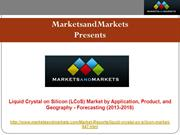 Liquid Crystal on Silicon (LCoS) Market - Global Forecast & Analysis