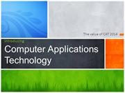 CAT Computer Applications Te