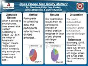 Cell Phone Screen Size / Group 50/50