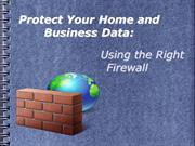Firewall Protection: Secure your network from hackers