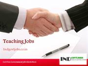 Teaching Jobs 2014