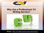 Why Use a Professional CV Writing Service?