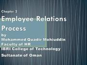 Employee Relation Process