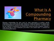 Sterile Compounding Pharmacy