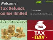 Tax Refunds Online Limited - nz tax refunds