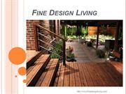 Landscape Construction and Design | Fine Design Living