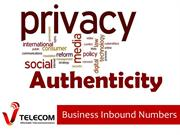 Privacy and Authenticity with business inbound numbers