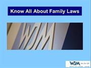 A Complete Range of Family Law Services at WJM