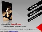 Remove the Agent Trojan - Agent Removal