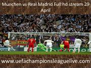 Live Madrid vs Munchen Broadcast
