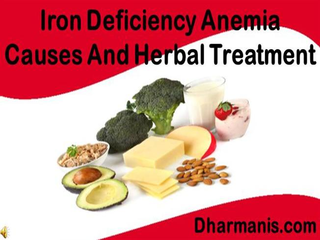 What are some signs of iron deficiency?