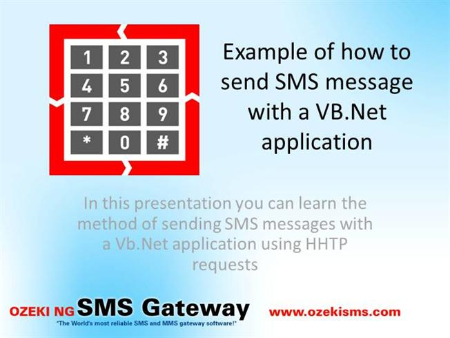 Example_How_To_Send_SMS_In_VB Net |authorSTREAM