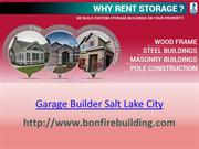 Garage Builder Salt Lake City