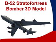 B-52 STRATOFORTRESS 3D MODEL