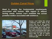 Golden Corral Lunch Price