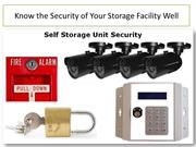 Know the Security of Your Storage Facility Well-Kuwait