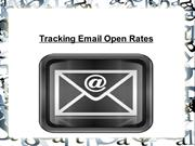 Tracking Email Open Rates