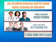 Car Accident Attorney And Personal Injury Attorney in Charlotte