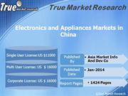 Electronics and Appliances Markets