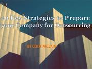 10 Key Strategies to Prepare your Company for Outsourcing