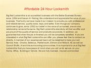 Affordable 24 Hour Locksmith