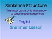Copy of Grammar Teacher Lecture