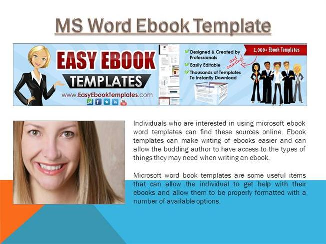 Ms word ebook template authorstream maxwellsz