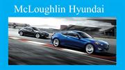 McLoughlin Hyundai- Dealers of Hyundai Cars