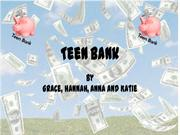 Teen Bank Apps for Good PowerPoint