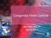 2014 Narrated Heart Defects
