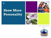 Show More Personality: Personalized Checks