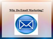 Why Do Email Marketing