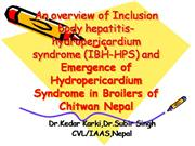 An overview of Inclusion body hepatitis-