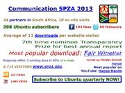 SPZA Communication 2013
